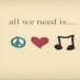 Music Peace Love