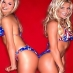 Stacy Keibler and Torrie Wilson